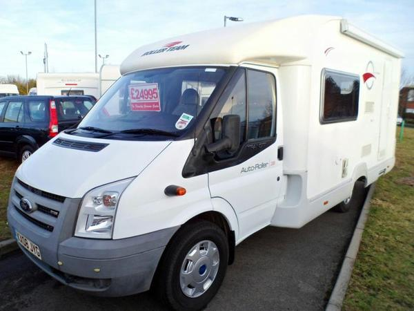 2008 FORD TRANSIT Auto-Roller 200 Diesel For Sale
