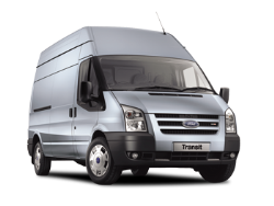 2015 Ford Transit Stock Blue