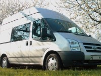 Ford Transit Stealth Camper Exterior View