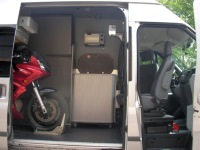 Ford Transit Stealth Camper Sliding Door