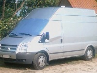 Ford Transit Stealth Camper Cover