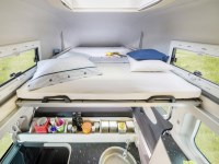 Ford Transit Westfalia Camper Sleeping Area